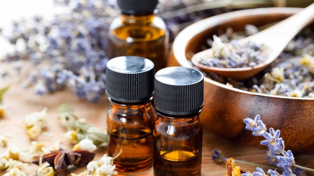 aroma therapy massage oils